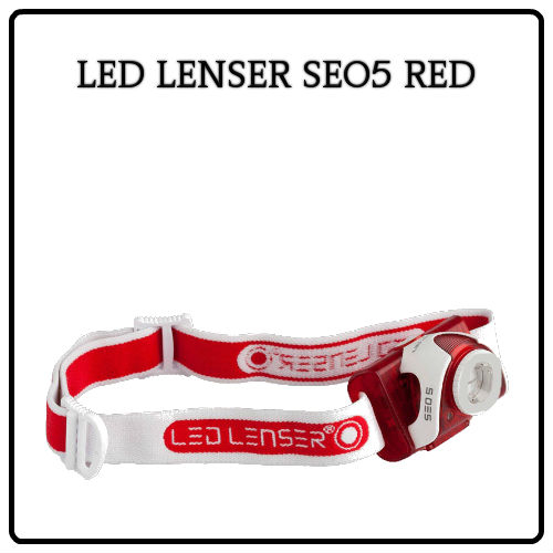 Led Lenser SEO5 RED dabat